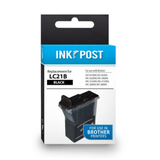 InkPost for Brother LC21 Black