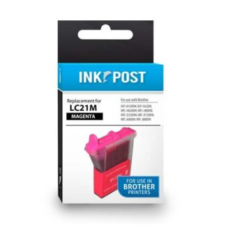 InkPost for Brother LC21 Magenta