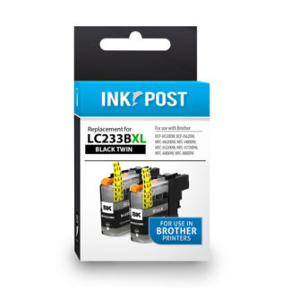 InkPost for Brother LC233 2pk