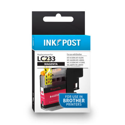 InkPost for Brother LC233 Magenta