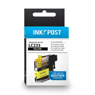 InkPost for Brother LC233 Yellow