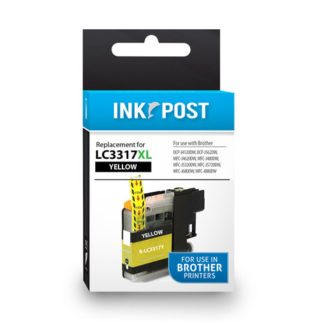 InkPost for Brother LC3317 Yellow