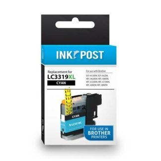 InkPost for Brother LC3319XL Cyan