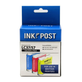 InkPost for Brother LC57 & LC37 3pk