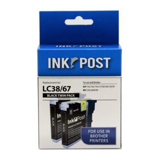 InkPost for Brother LC67 & LC38 2pk