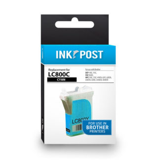 InkPost for Brother LC800 Cyan