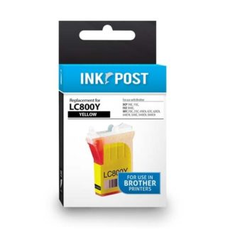 InkPost for Brother LC800 Yellow