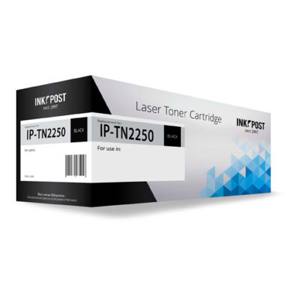 InkPost for Brother TN2250 Black Toner