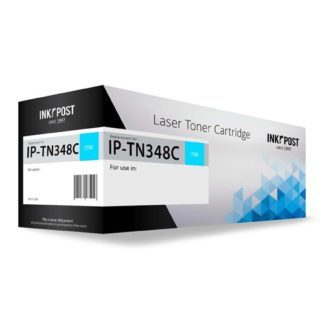InkPost for Brother TN348 Cyan Toner
