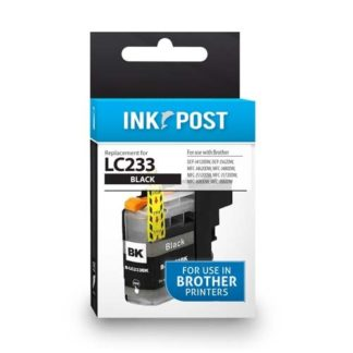 InkPost for Brother LC233 Black