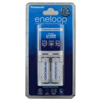 Panasonic Eneloop Overnight Charger + Batteries