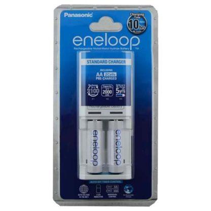 Panasonic Eneloop Overnight Charger + Batteries