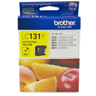 Brother Ink LC131 Yellow