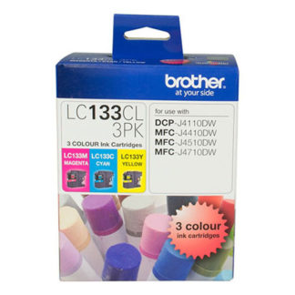 Brother Ink LC133 3pk