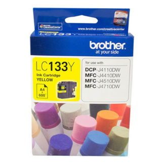 Brother Ink LC133 Yellow