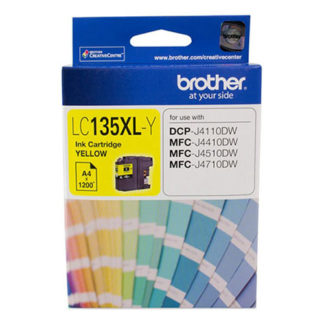 Brother Ink LC135XL Yellow