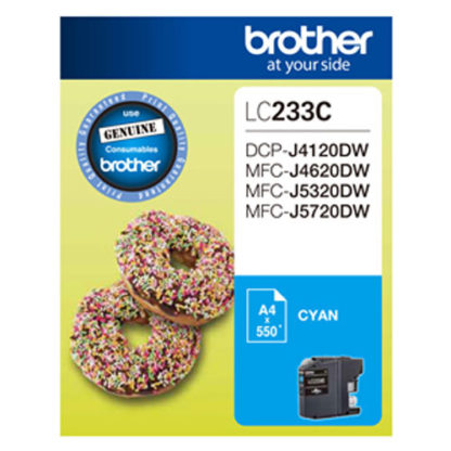 Brother Ink LC233 Cyan