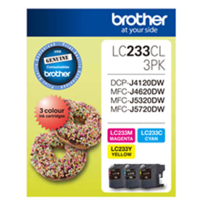 Brother Ink LC233 3pk