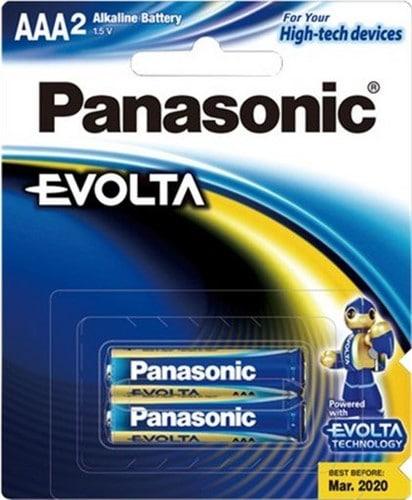 Panasonic Evolta AAA Batteries 2pk