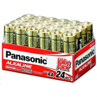 Panasonic Alkaline AA Batteries 24pk