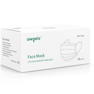 Owgels Face Mask Box 50 pieces