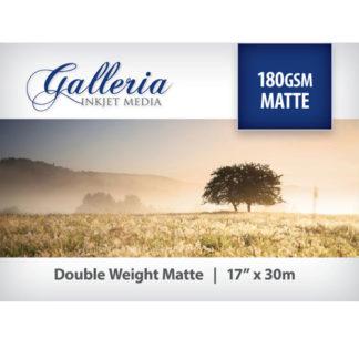 Galleria Matte Paper 180gsm 17 inch roll