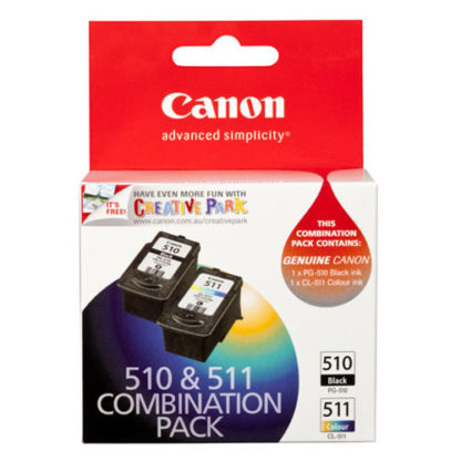 Canon Ink PG510 & CL511 2pk