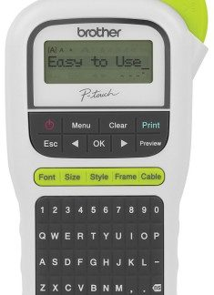 Brother PTH110 P-Touch White Label Printer