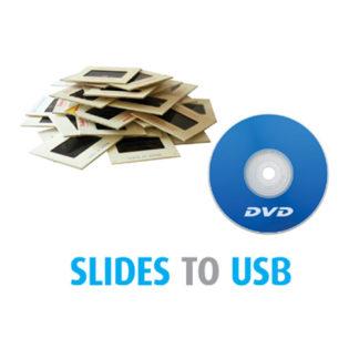 Scan Slides to DVD