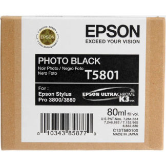 Epson Ink T5081 Photo Black