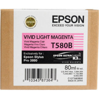 Epson Ink T580B Vivid Light Magenta