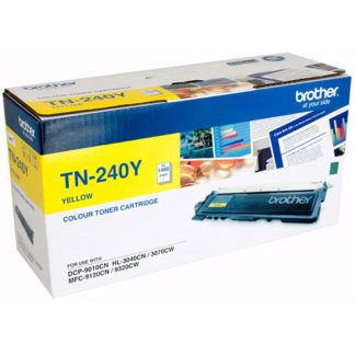 Brother TN240 Yellow Toner