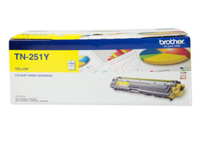 Brother TN251 Yellow Toner