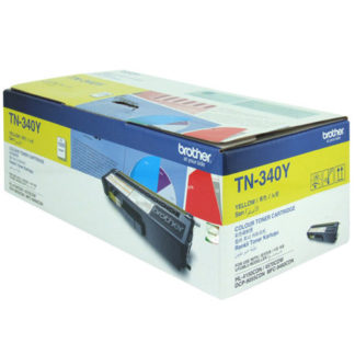 Brother TN340 Yellow Toner