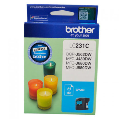 Brother Ink LC231 Cyan