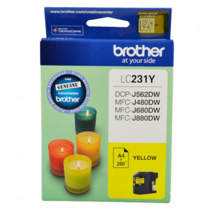 Brother Ink LC231 Yellow
