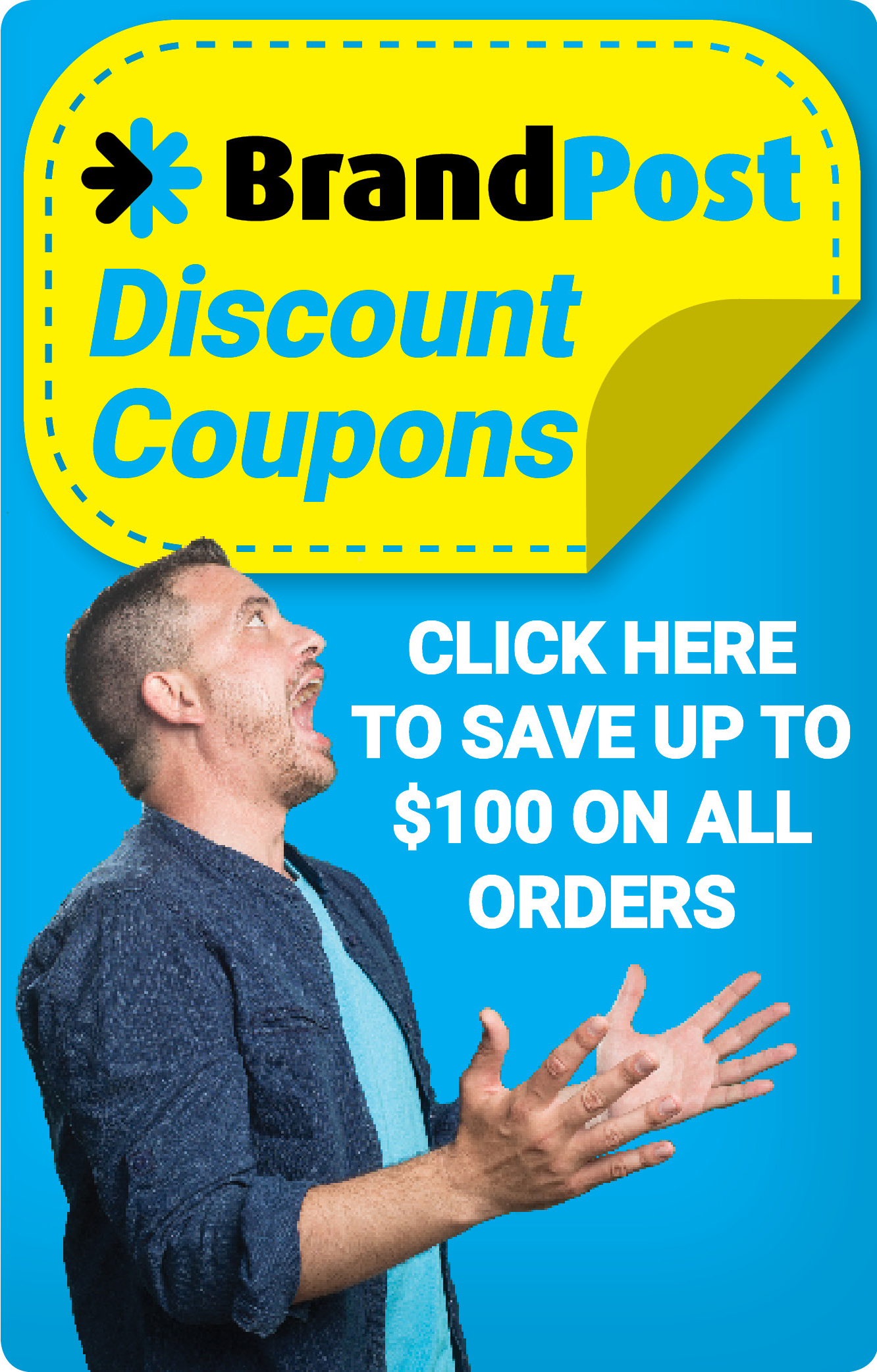 coupon front banner