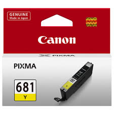 Canon Ink CLI681 Yellow
