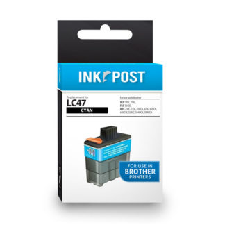 InkPost for Brother LC47 Cyan