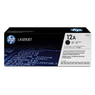 HP Q2612A Black Toner