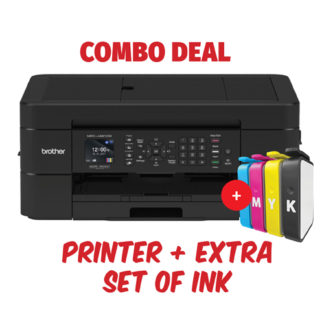 Brother MFC-J491DW Inkjet Printer Combo