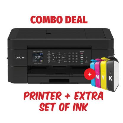 Brother MFC-J491DW Inkjet Printer Combo