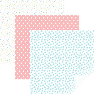 Cricut Party Time Pastels Patterened Iron-On Sampler