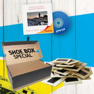 """Slide Scanning """"Fill a Shoebox"""""""
