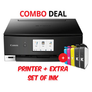 Canon TS8260 Black Printer Combo